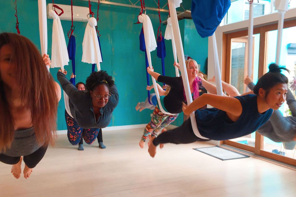 About Antigravity Aerial Yoga