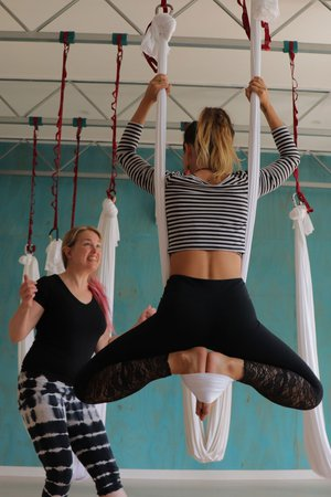 Aerial Yoga: Advance your Practice