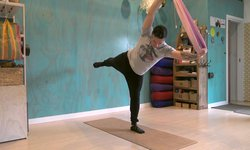 Aerial Yoga - Standing Poses