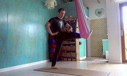 Aerial Yoga - Shoulders, Spine & Hips