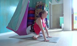 Aerial Spinal Series - Legs & Hips