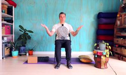 Chair Yoga - Forgiving Warrior