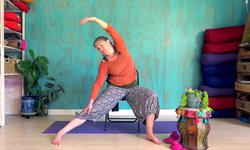Chair Yoga - Mindful Lefts + Rights