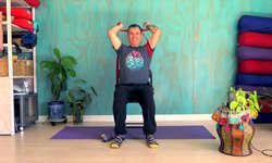 Chair Yoga - Straps and Warriors!