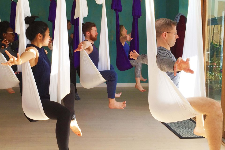 The 8 Most Common Misconceptions about Aerial Yoga