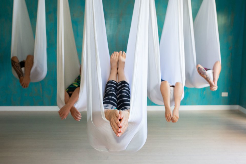 Making Aerial Yoga More Accessible